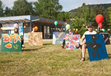 """""""Lobeda zeigt sich"""" – Kunst verschönert den Stadtteil"""