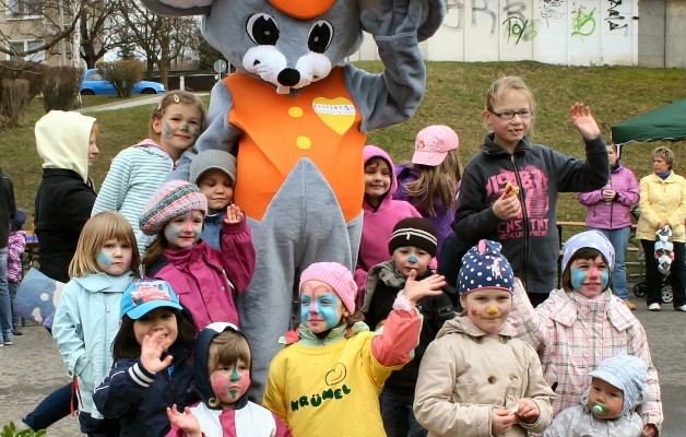 City-Maus für mehr Bewegung in Gera Bieblach