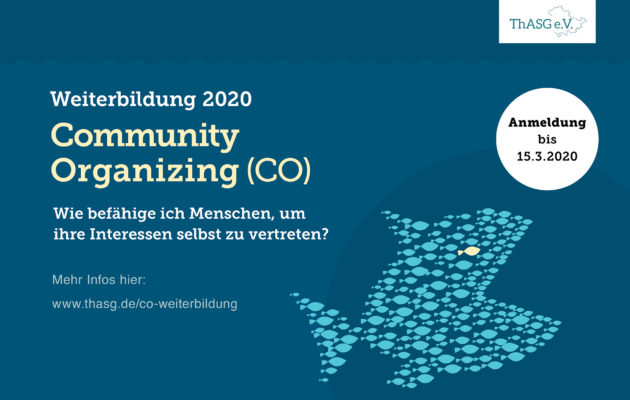 Weiterbildung Community Organizing (CO)